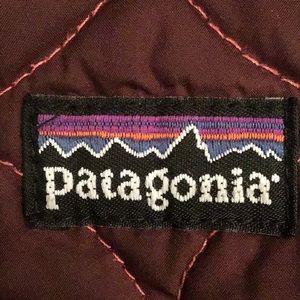 Patagonia reversible kids jacket